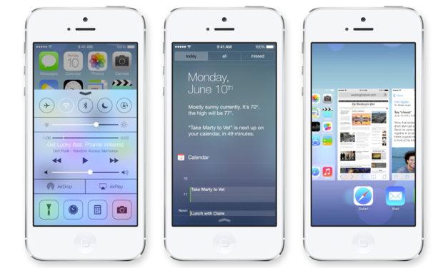 Das neue Apple iOS 7