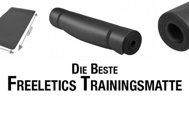 Freeletics Matte – Welche Trainingsmatte eignet sich am besten?