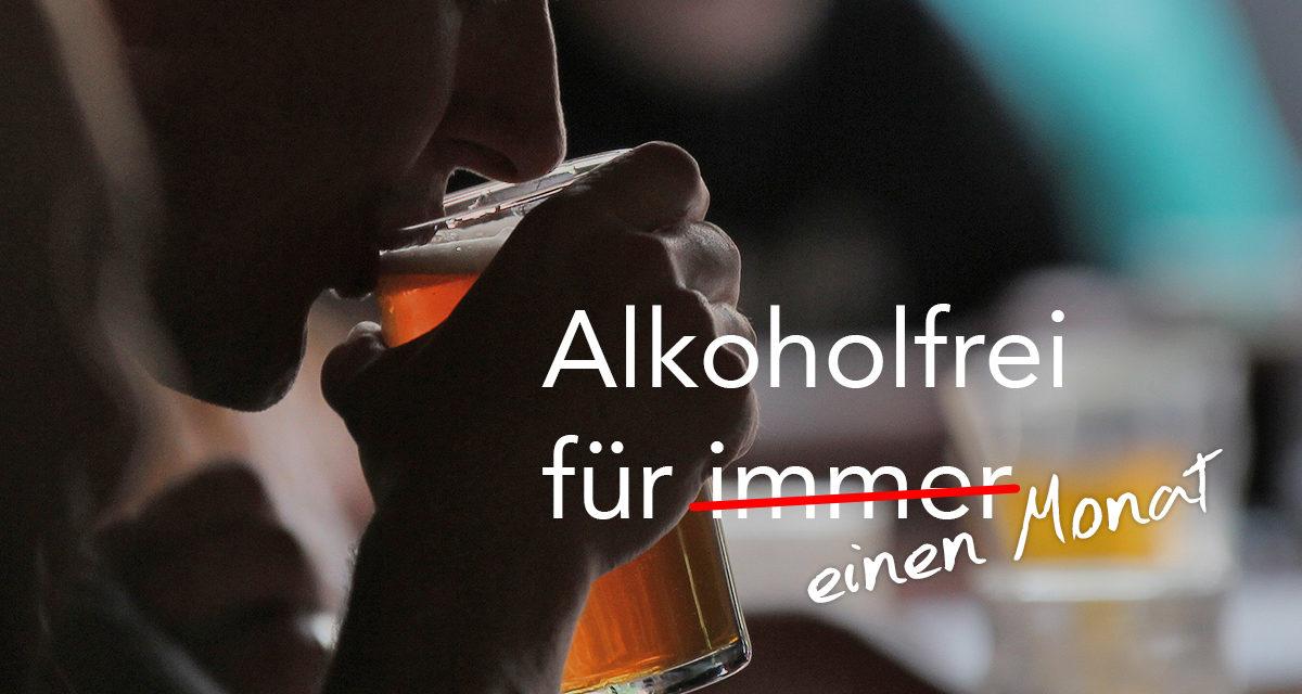 Ein Monat ohne Alkohol