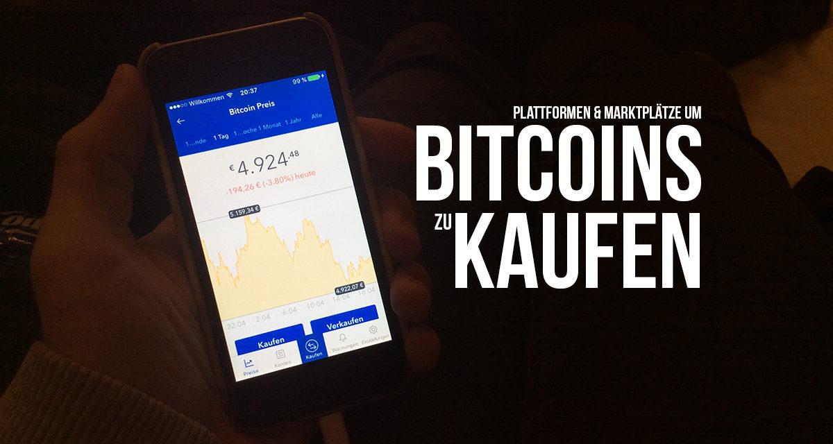 Bitcoins kaufen und verkaufen