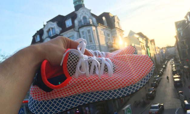 Adidas Deerupt – der Sneaker im Netz